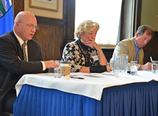 Rusnell, Ford and McClure discuss the issues with government when it comes to getting information in Alberta.