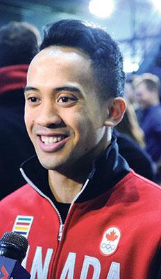Gilmore Junio Smiling