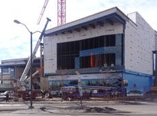 Riddell library construction