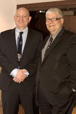Dave Hancock and David Docherty
