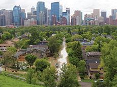 Flood City of Calgary Photo