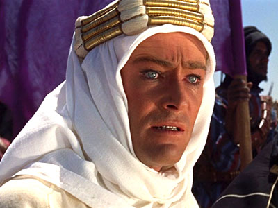 Peter OToole in Lawrence of Arabia-1