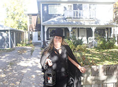 Johanna Lane of Ghost Tours Calgary