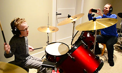 EDIT Jaxon dad drums
