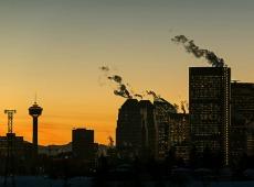 Calgary Dusk Thumbail