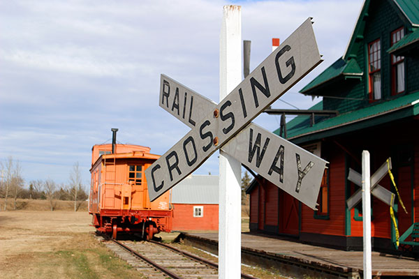 Hanna RailwayCrossing