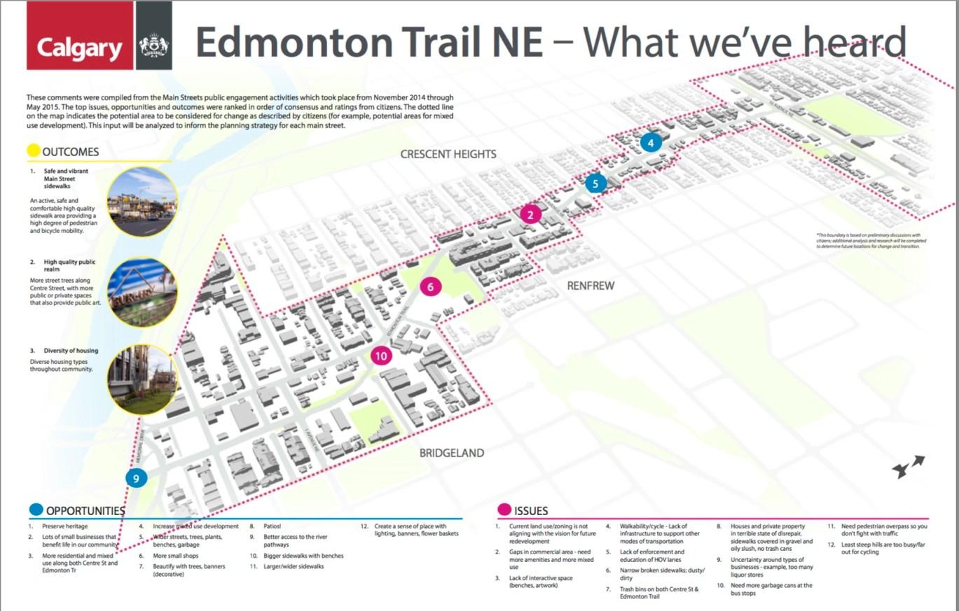 Edmonton Trail NE What weve heard