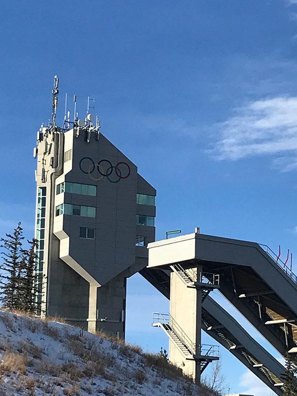 90 metre Ski Jump EDIT