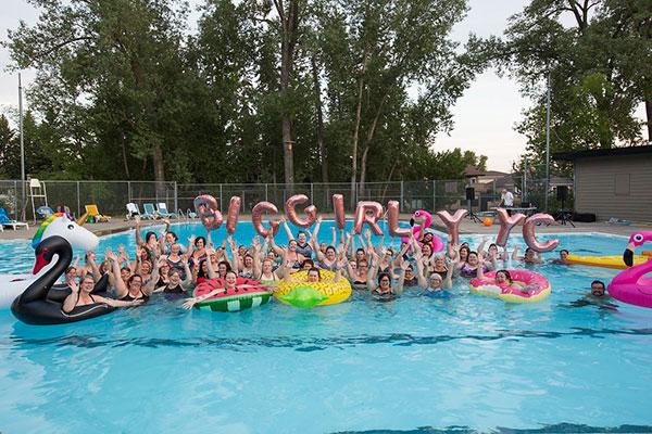 Big Girl YYC Pool Party