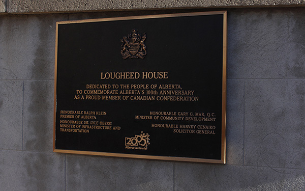 The Lougheed House remains to be one of the key historical sites in Calgary, hosting a museum and restaurant. Photo by Kaeliegh Allan