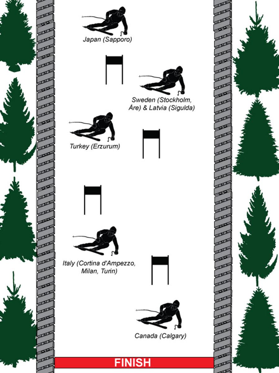 Ski graphic ONLINE