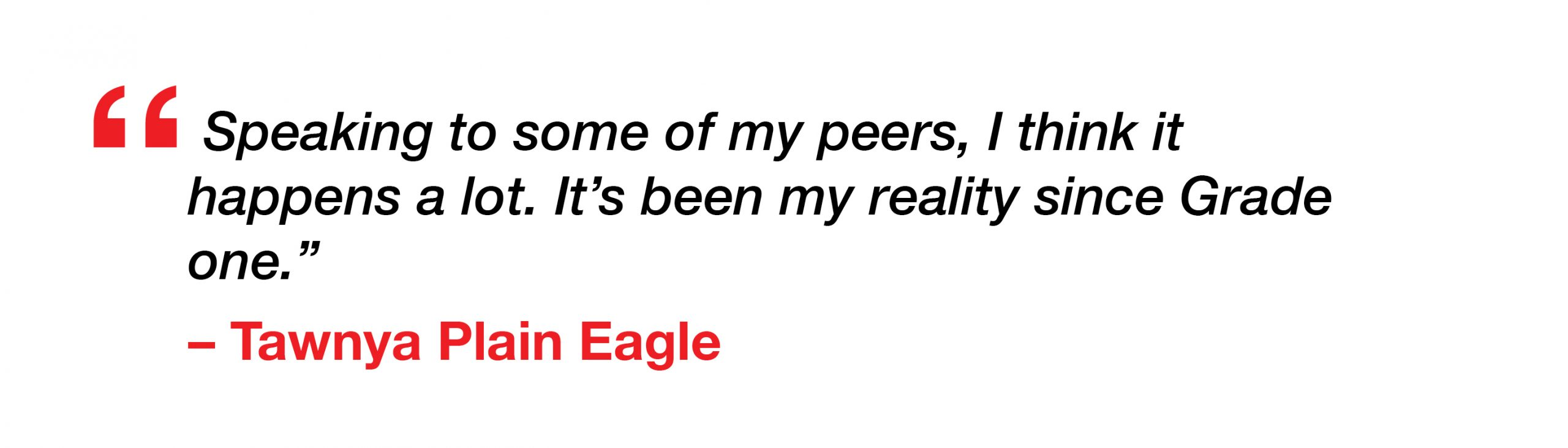 Plain Eagle Pull Quote
