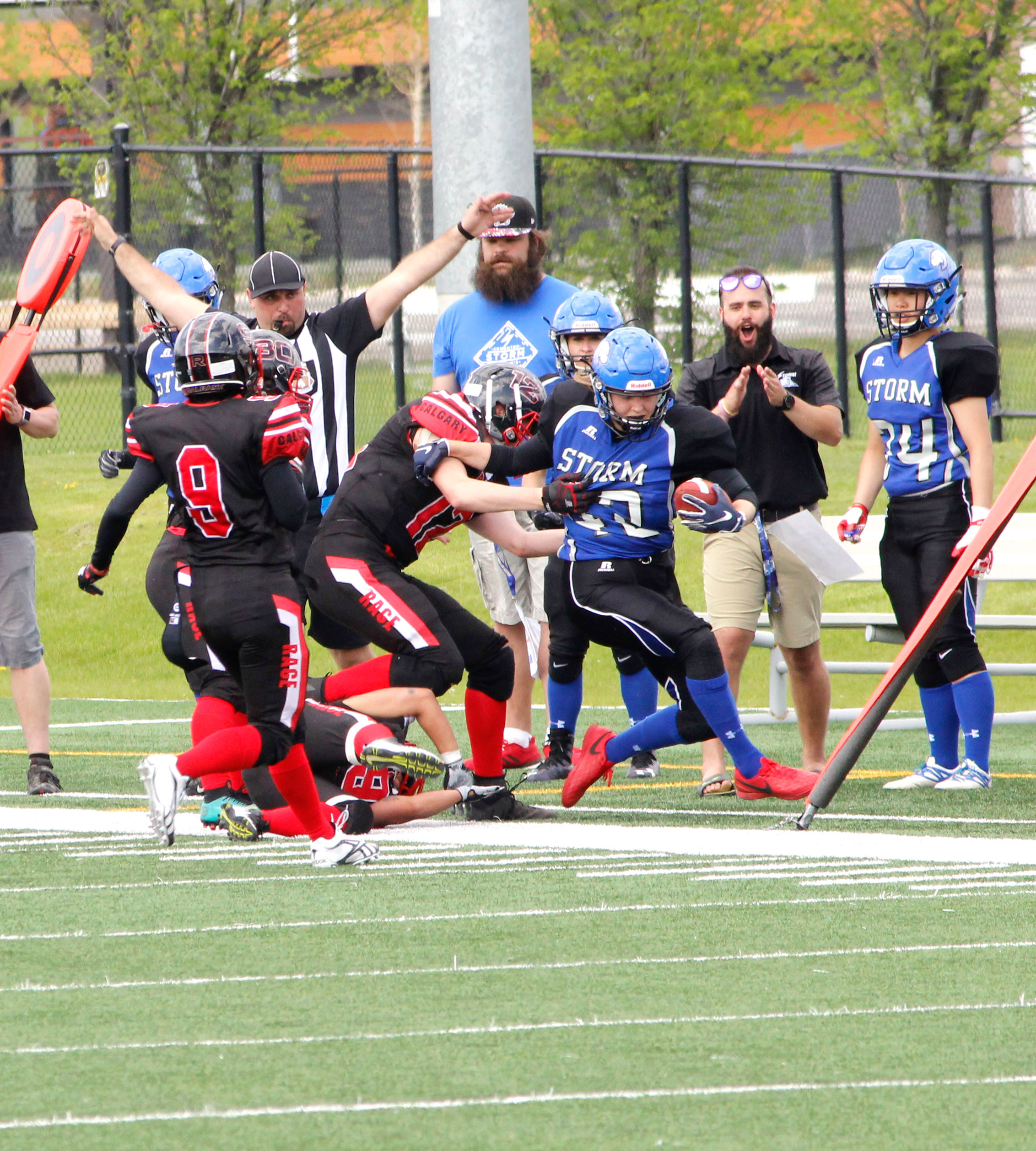 Sports rage sidelines 3rd