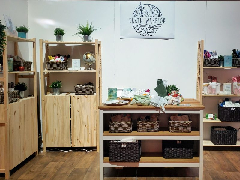 A Physical Outlet for Earth Warrior Lifestyle, with only zero-waste products. Courtesy of Katrina Hillyer