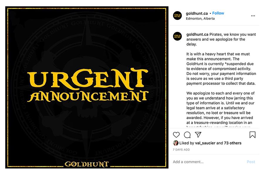 Gold Hunt Update AL