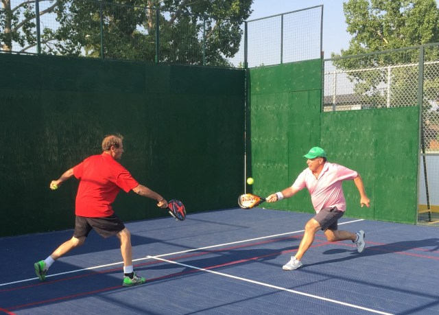 team work in PADEL