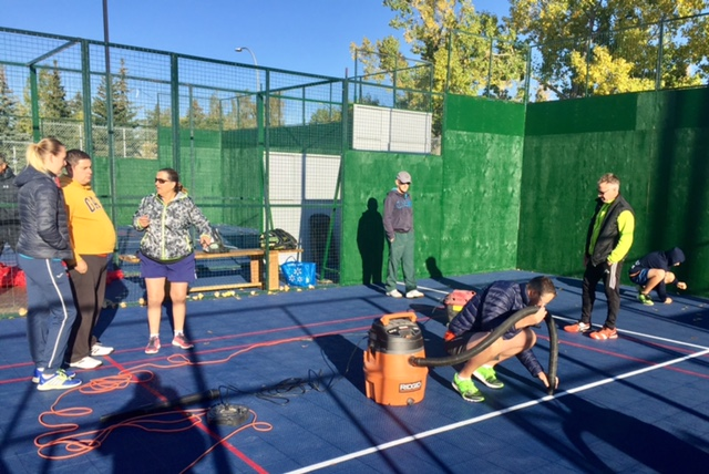 Delays at the Calgary Padel Club