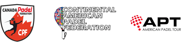 Canadian Padel Federation, Continental American Padel Federation and American Padel Tour