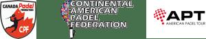 Canada Padel Federation, Continental American Padel Federation, American Padel Tour