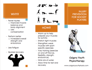 Hockey Injury Prevention Pamphlet