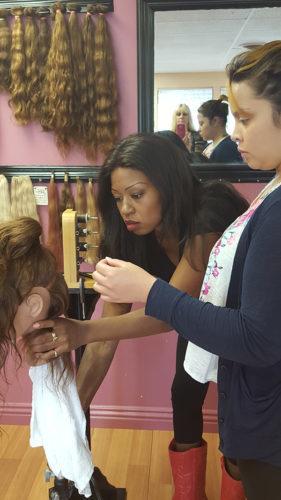 hair extension courses