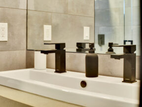 odessa ave bathroom remodel close sink