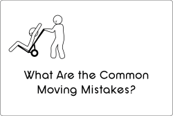 Telling those that reside in Lathrup Village, Southfield, Birmingham, Beverly Hills, and other Metro Detroit areas the common mistakes that people make when they are trying to move.