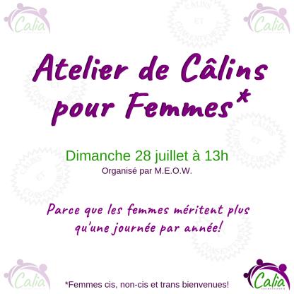 Atelier de Câlins pour Femmes