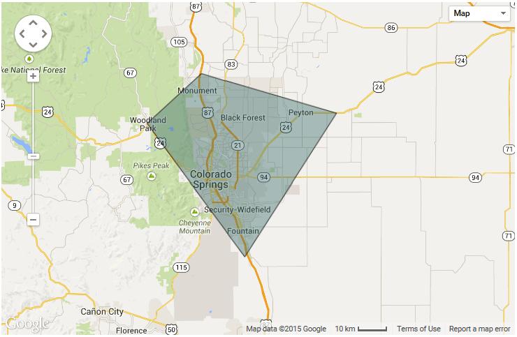Calibrating Air's Service Area Map