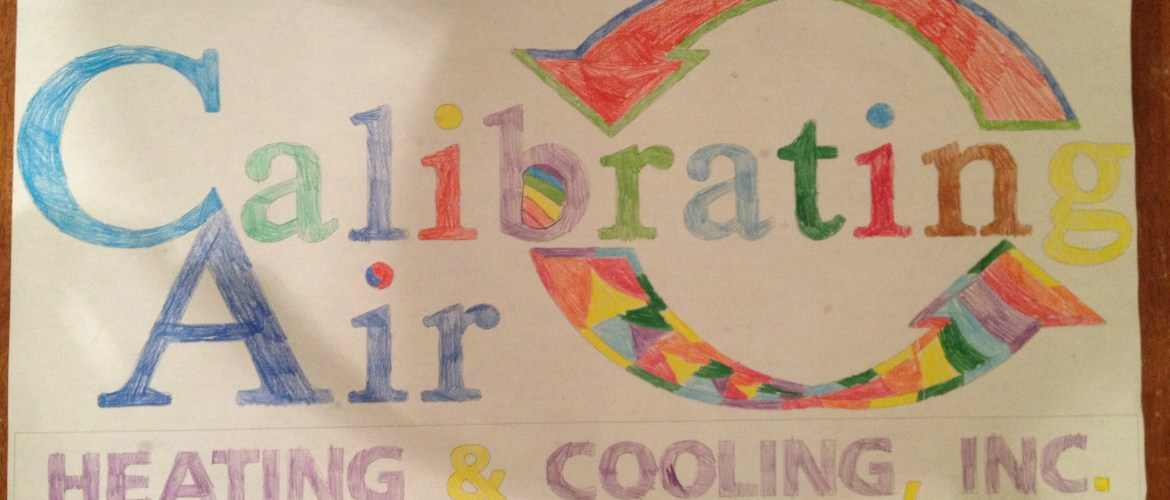 Calibrating Air logo colored by Madison