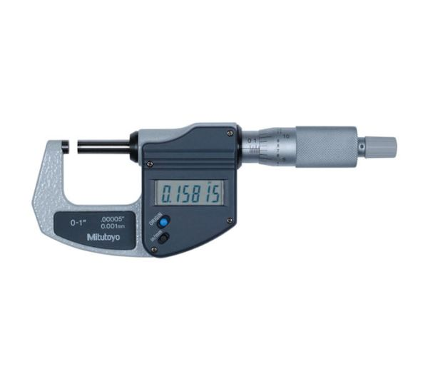 Mitutoyo 293-821-30 0-25mm Digimatic Micrometer