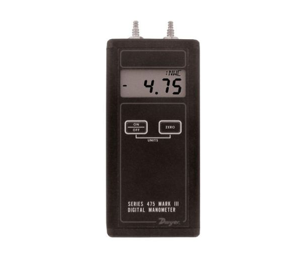 Dwyer 475 MarkIII Digital Manometer P/N 475-00-FM