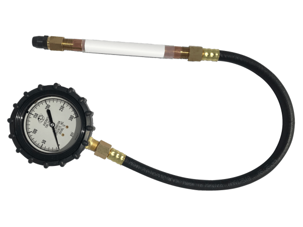 Calibration Specialty, Inc. Aircraft Tire Gauge with Straight-on Chuck