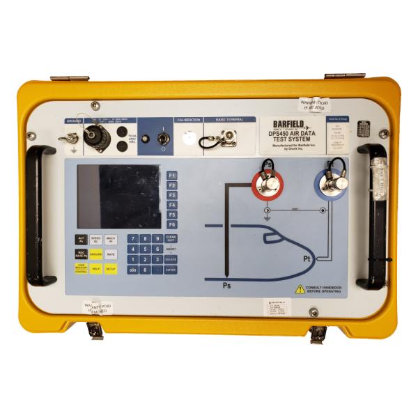 DPS 450 Air Data Test Set Panel