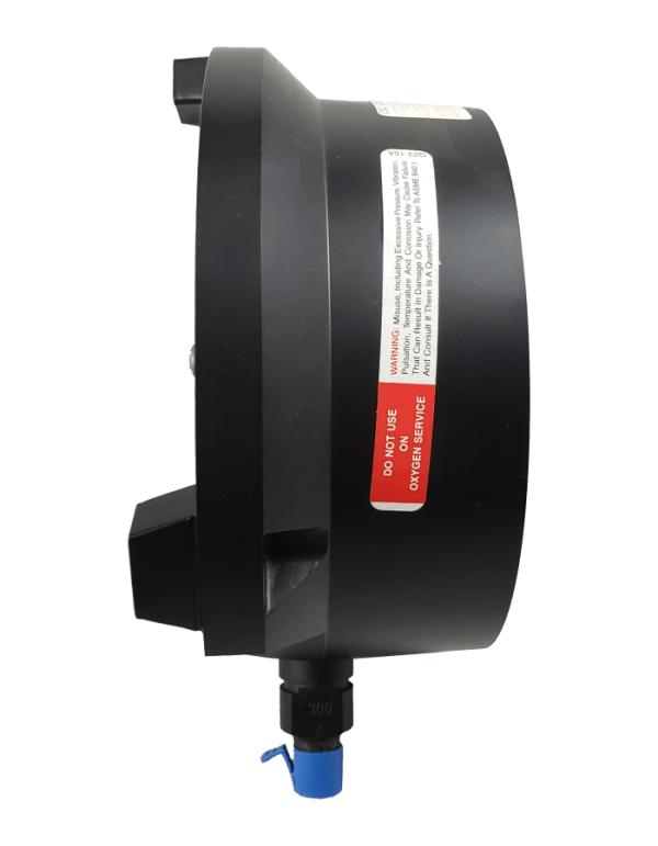 Used Weksler 300 PSI Test Gauge Side