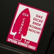 Devil's Brigade Sticker
