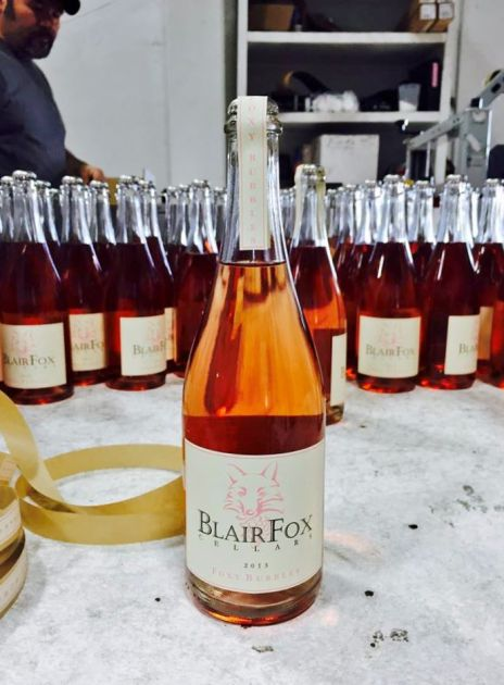 Blair Fox rose wine
