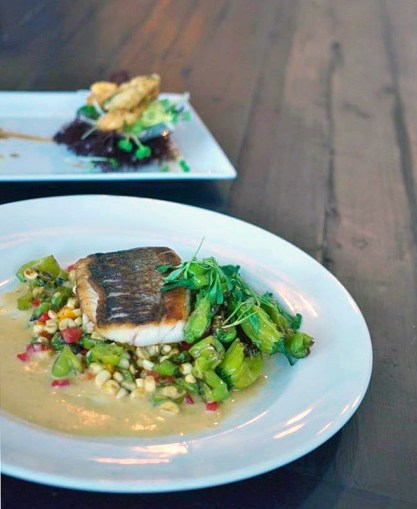 Crispy White Sea Bass - The Gathering Table at Ballard Inn by Liz Dodder2