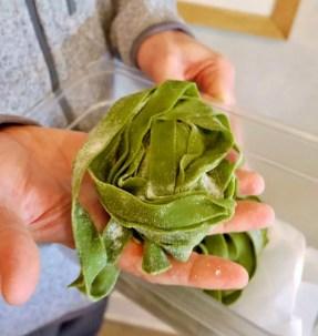 SY Kitchen Nettle Pasta - Liz Dodder CaliCoastWine