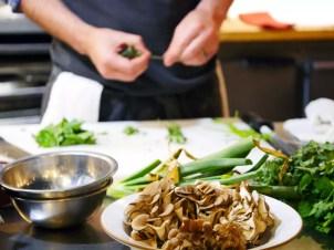 Villa Creek Chef Tim Veatch Mushrooms by Liz Dodder
