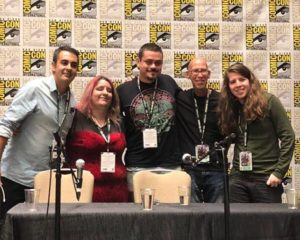 International Movie Making Panel with Frank Rodriguez, Victor Osuna, Mitch Hyman and Seb. M. Finck