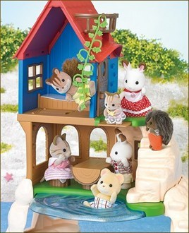 Calico Critters Secret Island Playhouse Image 3