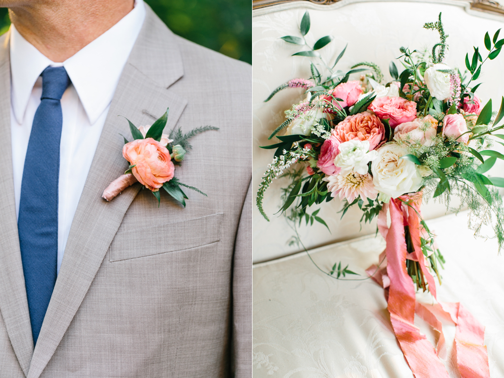 Gorgeous Summer Wedding Flowers Featured In Utah Valley