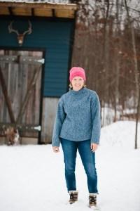 Named Talvikki Sweater in heavy sweater knit