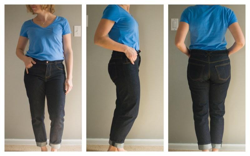 Morgan jeans in their original form