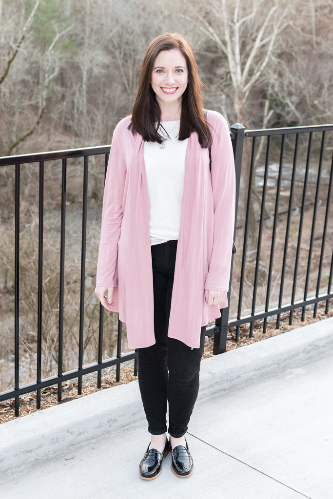 Jenny Maker McCalls 6084 Blush Cardigan 3