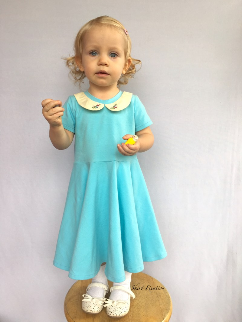 Robin's Egg Blue Dress 9 - Cali