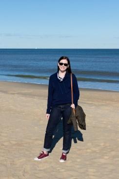 Jenny Maker Navy Hey June Tallinn Sweatshirt (1 of 3)