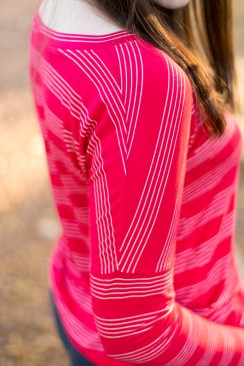 Jenny Maker Red White Striped SOI Molly Top (3 of 3)