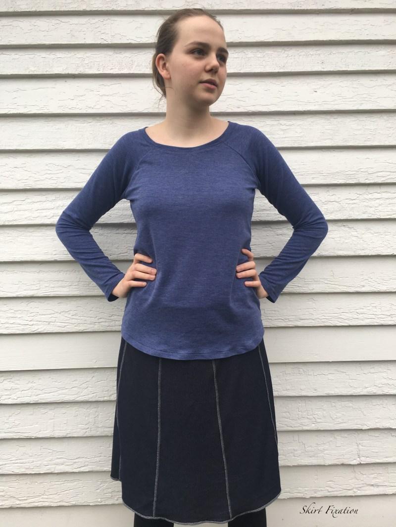 Denim Knit Fabric 2